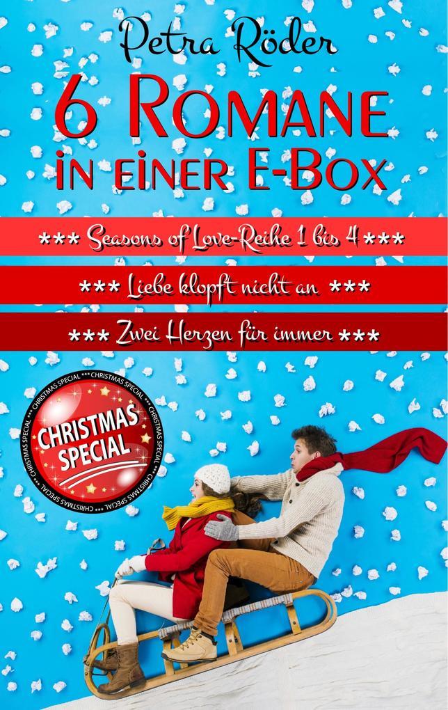 6 Romane in einer E-Box (Seasons of Love Reihe 1 bis 4 + Liebe klopft nicht an + Zwei Herzen für immer) als eBook