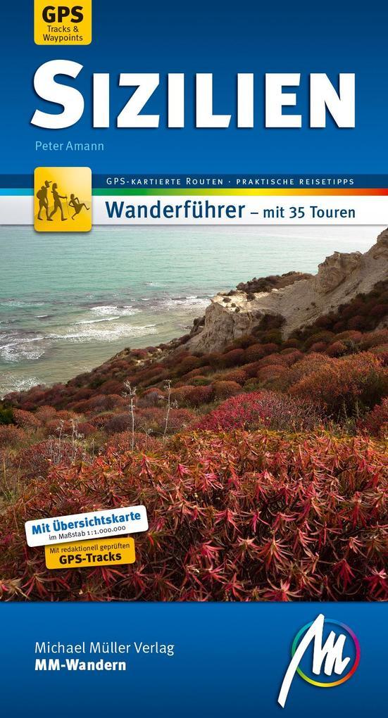 Sizilien MM-Wandern Wanderführer Michael Müller Verlag als Buch (kartoniert)