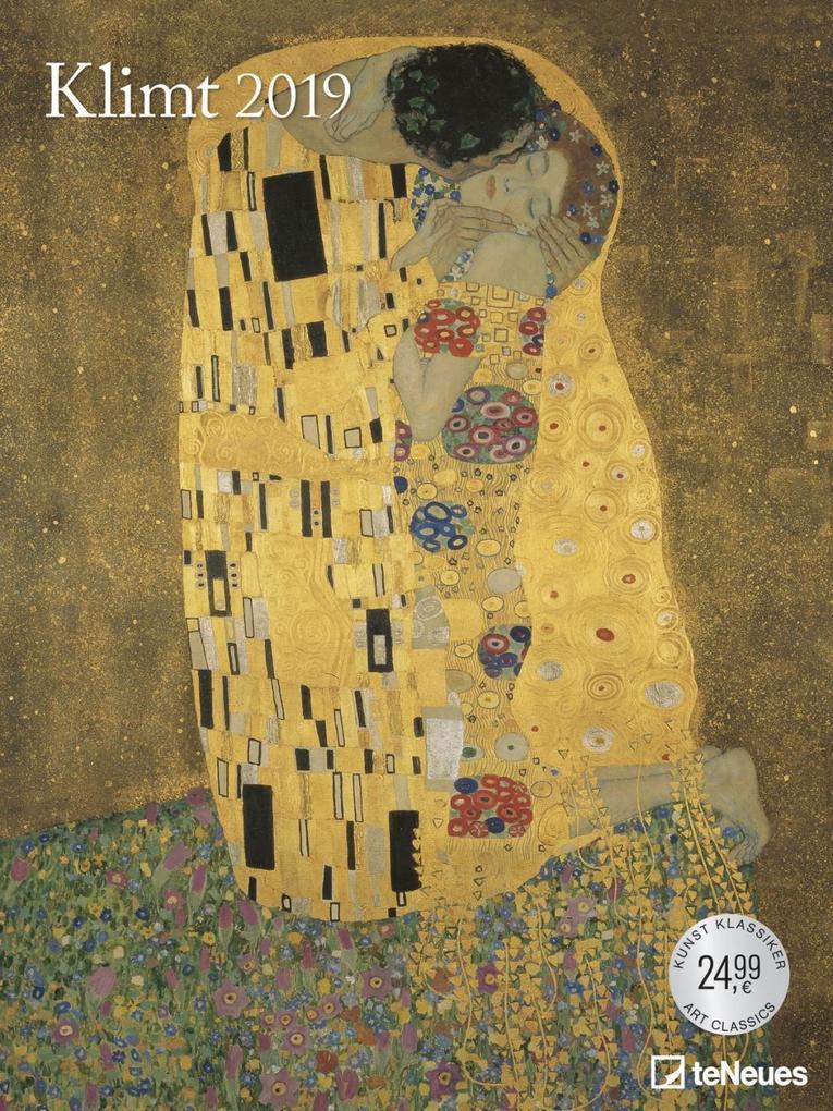 2019 Klimt Poster Calendar als Kalender