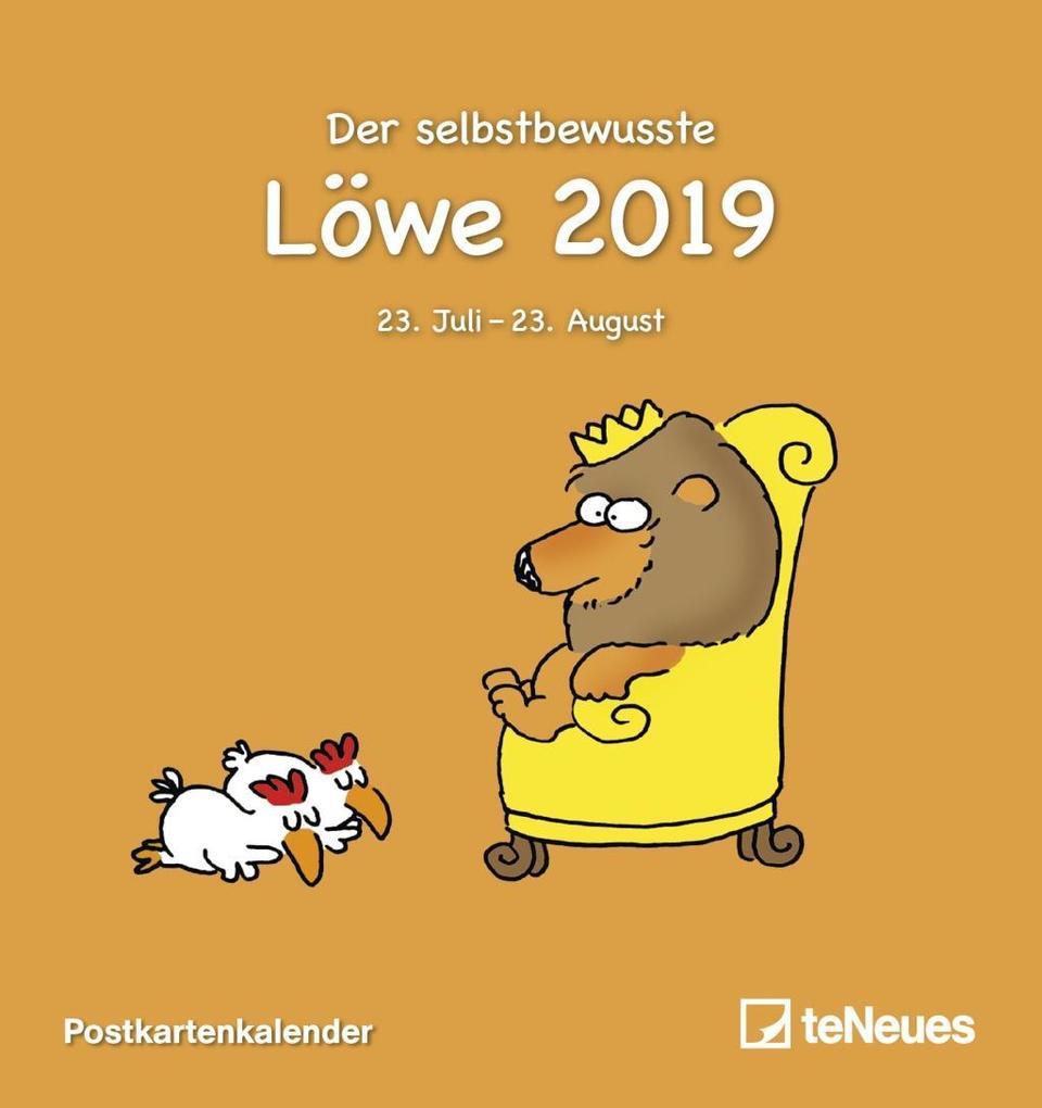 Sternzeichen Löwe 2019 (Kalender), Alexander Holzach