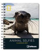 2019 Nat Geog Animal Selfie Deluxe Diary