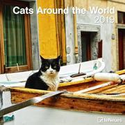 2019 Cats around the World Grid Calendar
