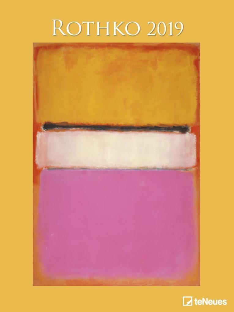 Rothko 2019 Posterkalender