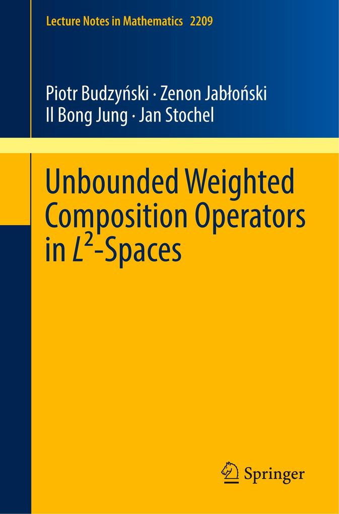 Unbounded Weighted Composition Operators in L²-...