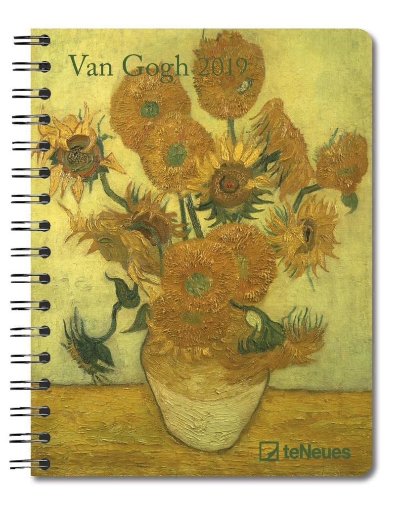 Van Gogh 2019 Buchkalender Deluxe