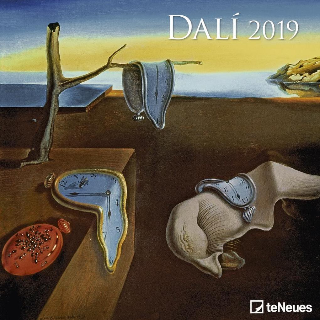 Dalí 2019 Broschürenkalender