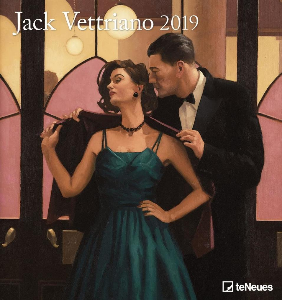Jack Vettriano 2019 Kunstkalender