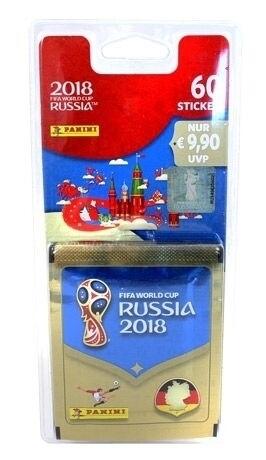 FIFA Worldcup Russia 2018 Sticker Blisterpack mit 12 Tüten als sonstige Artikel