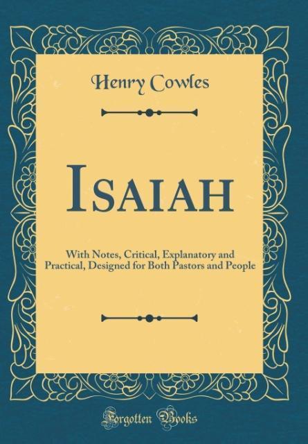 Isaiah als Buch von Henry Cowles