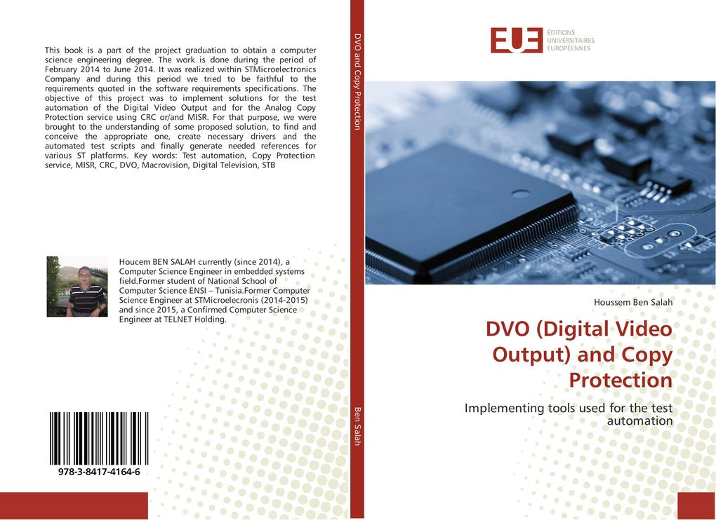 DVO (Digital Video Output) and Copy Protection ...