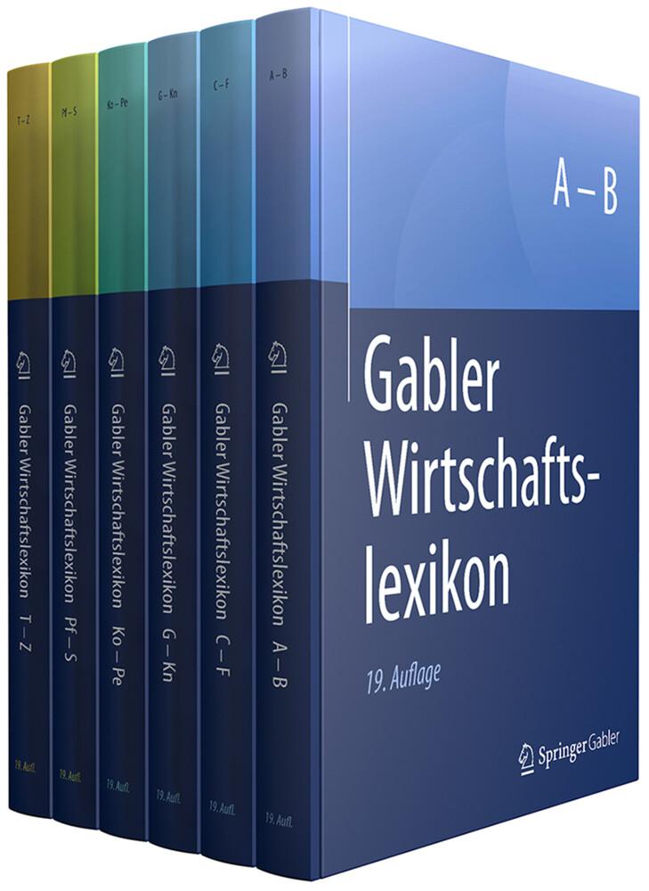 Gabler Wirtschaftslexikon als Buch