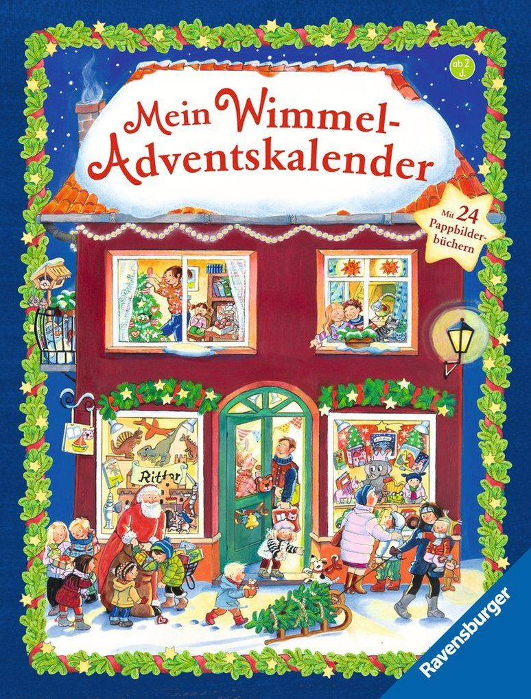 Mein Wimmel-Adventskalender als Buch