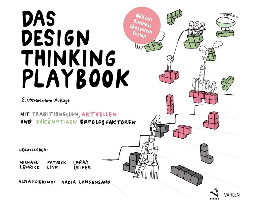 Das Design Thinking Playbook als Buch