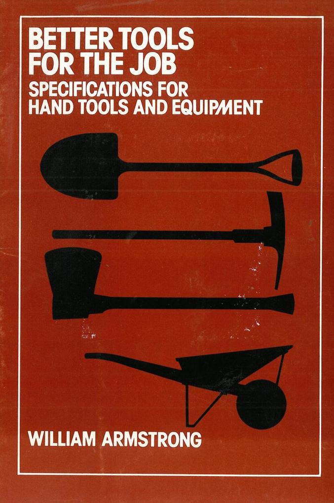 Better Tools for the Job als eBook Download von...