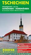 Höfer Tschechische Republik CS003 Ostböhmen - Nordmähren 1 : 200 000