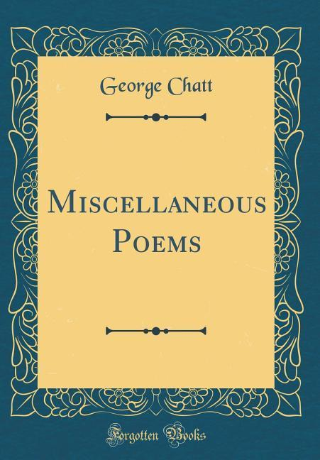 Miscellaneous Poems (Classic Reprint) als Buch ...