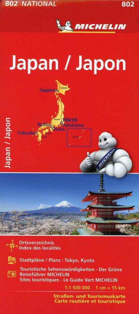 Michelin Japan als Buch von