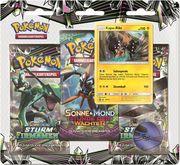Amigo Spiele - Pokémon - SM07 3-Pack Blister DE