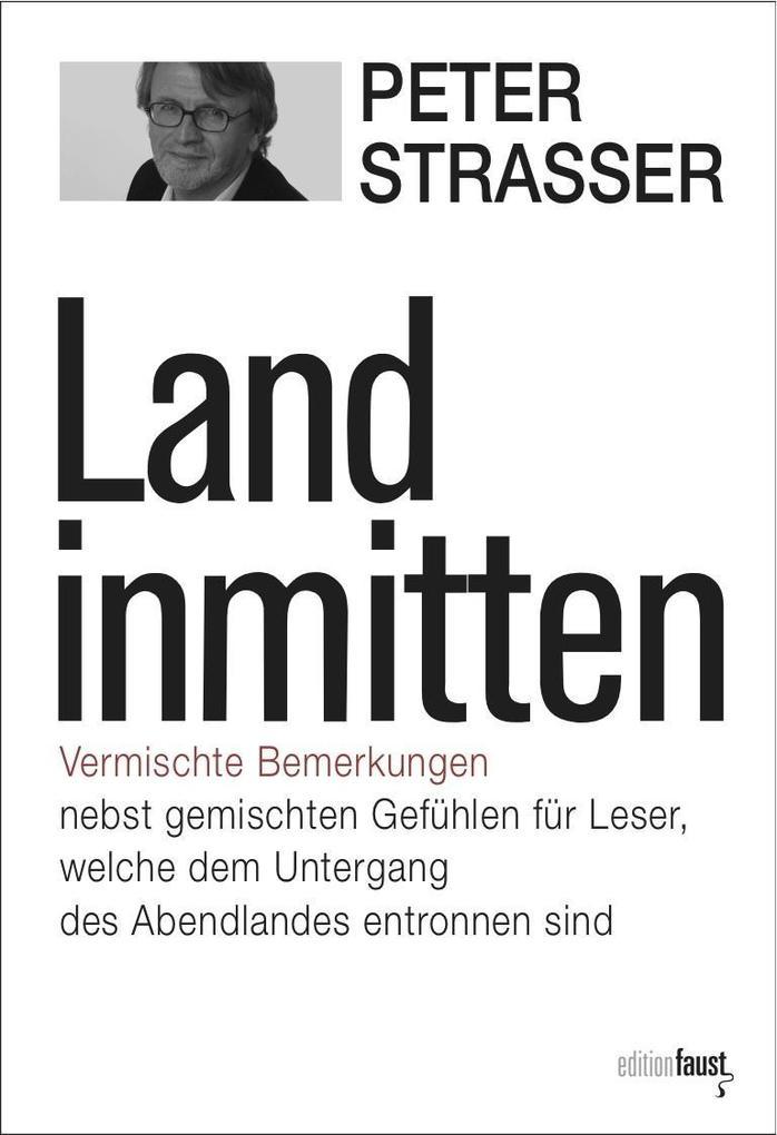 Land inmitten als Buch von Peter Strasser