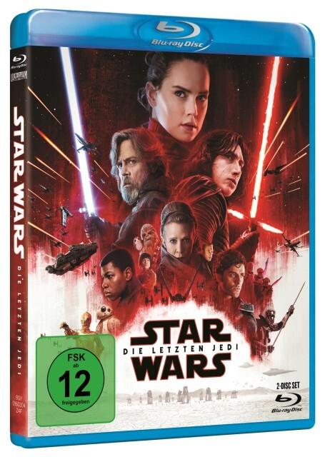 Star Wars: Episode VIII - Die letzten Jedi als DVD