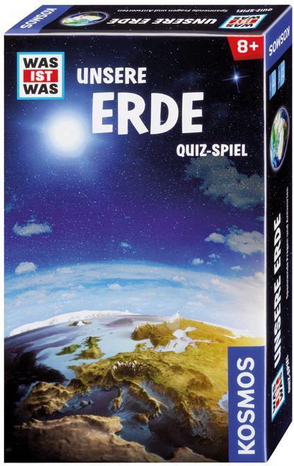 Image of Kosmos 69660 - Was ist was: Unsere Erde, Quiz-Spiel