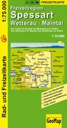 Freizeitregion Spessart / Wetterau / Maintal 1 : 75 000. Rad- und Freizeitkarte