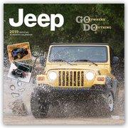 Jeep 2019 - 18-Monatskalender