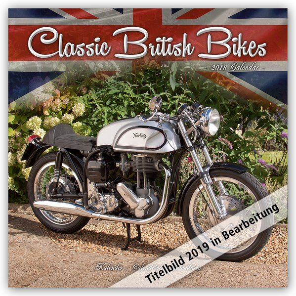 Classic British Motorbikes - Britische Motorrad...