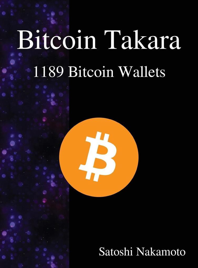 Bitcoin Takara als Buch von Satoshi Nakamoto