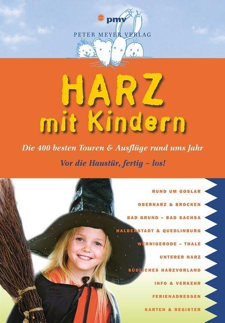 Harz mit Kindern als Buch von Kirsten Wagner