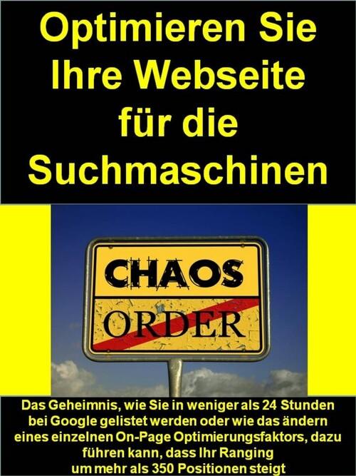 Optimieren Sie Ihre Webseite für die Suchmaschi...
