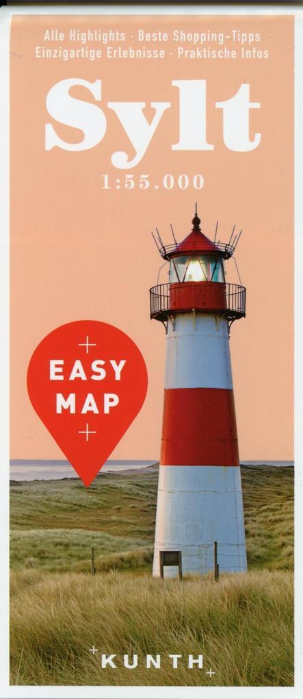 EASY MAP Sylt 1:55.000 als Buch von