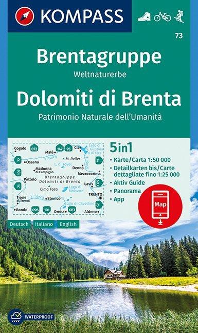 Brentagruppe, Weltnaturerbe, Dolomiti di Brenta...
