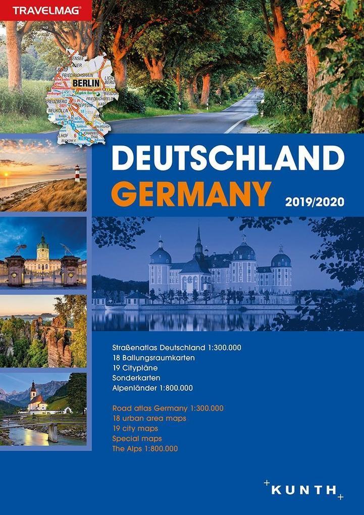 Reiseatlas Deutschland 2019/2020 als Buch von