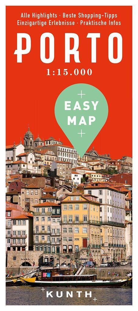 EASY MAP Porto 1:15.000 als Buch von