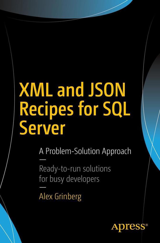 XML and JSON Recipes for SQL Server als eBook D...