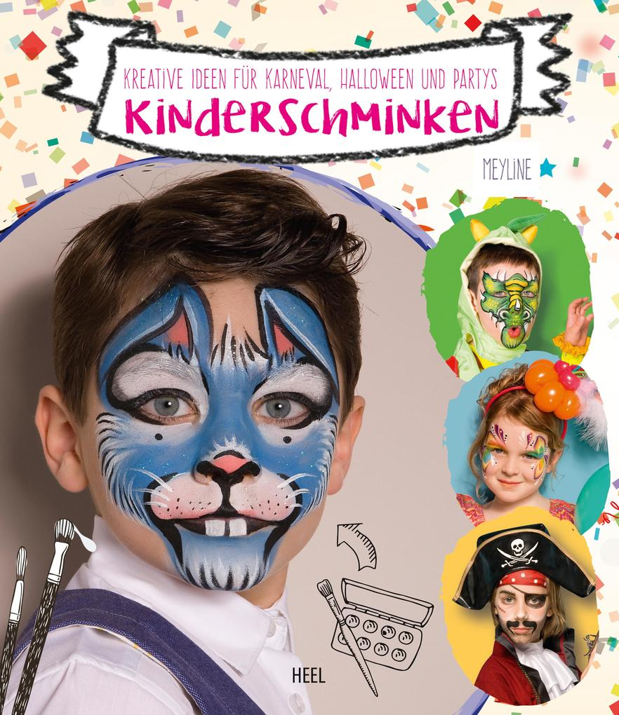 Kinderschminken als eBook Download von Meyline