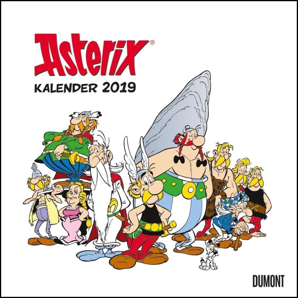 Asterix 2019 - Wandkalender im Quadratformat als Kalender