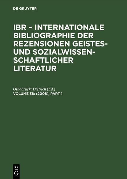 (2008) als Buch von Osnabrück: Dietrich
