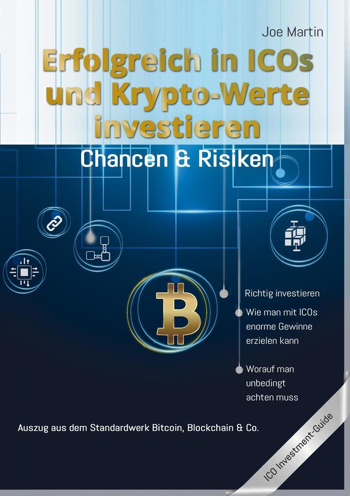 Erfolgreich in ICOs und Krypto-Werte investieren als eBook