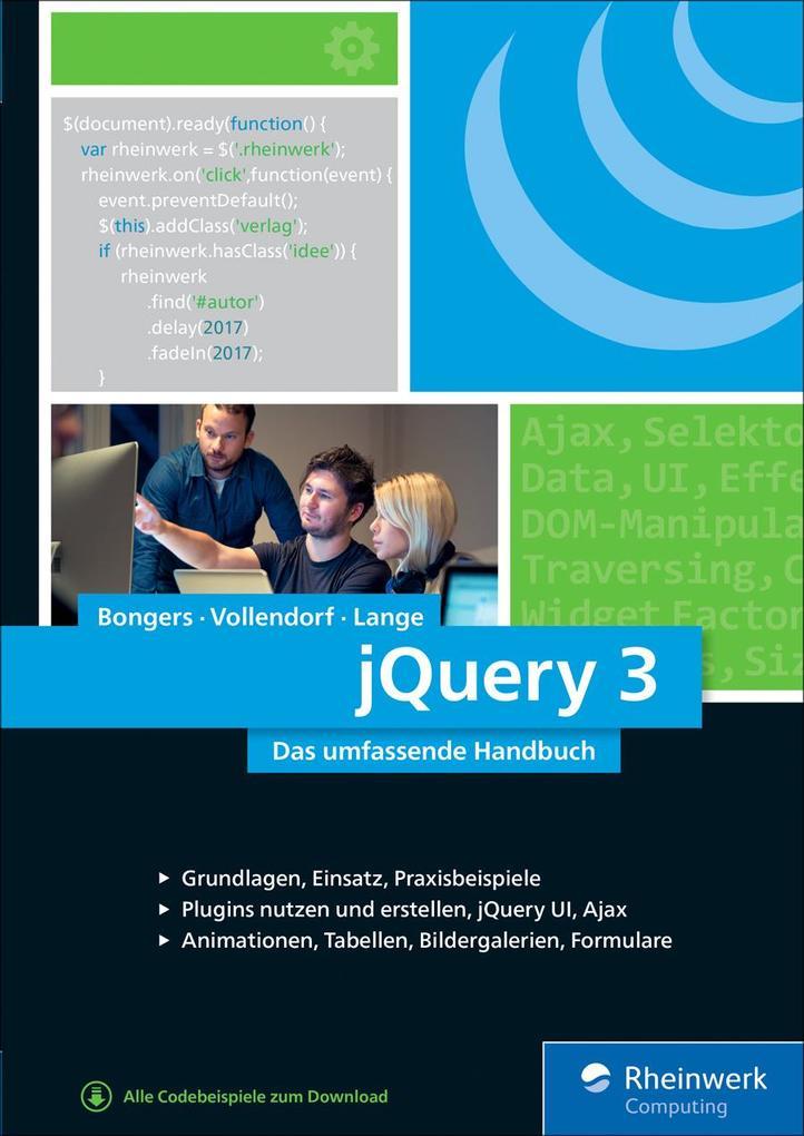 jQuery 3 als eBook Download von Frank Bongers, ...