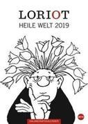 Loriot Heile Welt - Kalender 2019