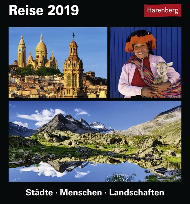 Reise. Kalender 2019 als Kalender