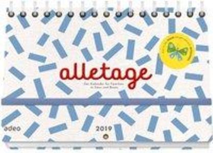 alletage 2019 - Hand- und Wandkalender als Kalender