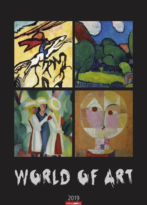 World of Art - Kalender 2019