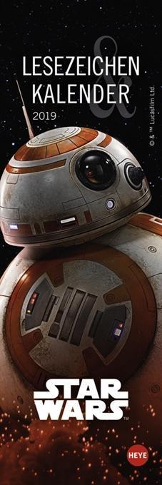 Star Wars Lesezeichen & Kalender 2019