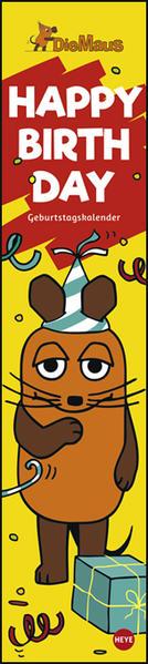 Die Maus Happy Birthday, Geburtstagskalender als Kalender