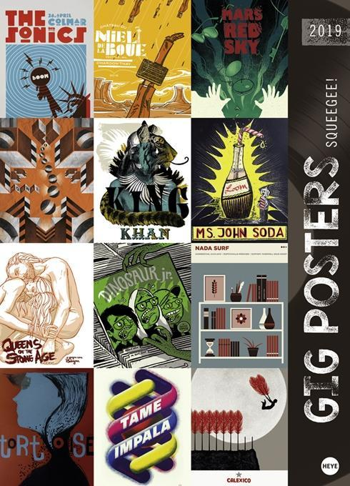 Gig Posters Edition - Kalender 2019