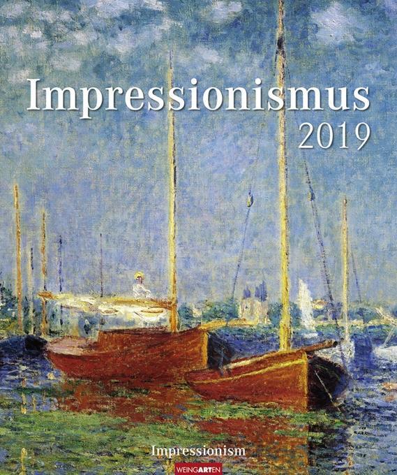 Impressionismus - Kalender 2019