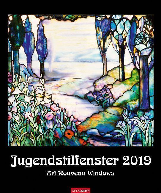 Jungendstilfenster - Kalender 2019